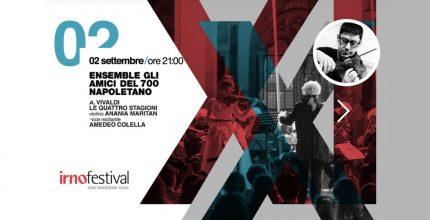 L'Ensemble degli amici del 700 napoletano alla XXII edizione dell'Irnofestival